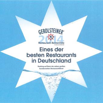 Gerolsteiner - Eines der besten Restaurants in Deutschland